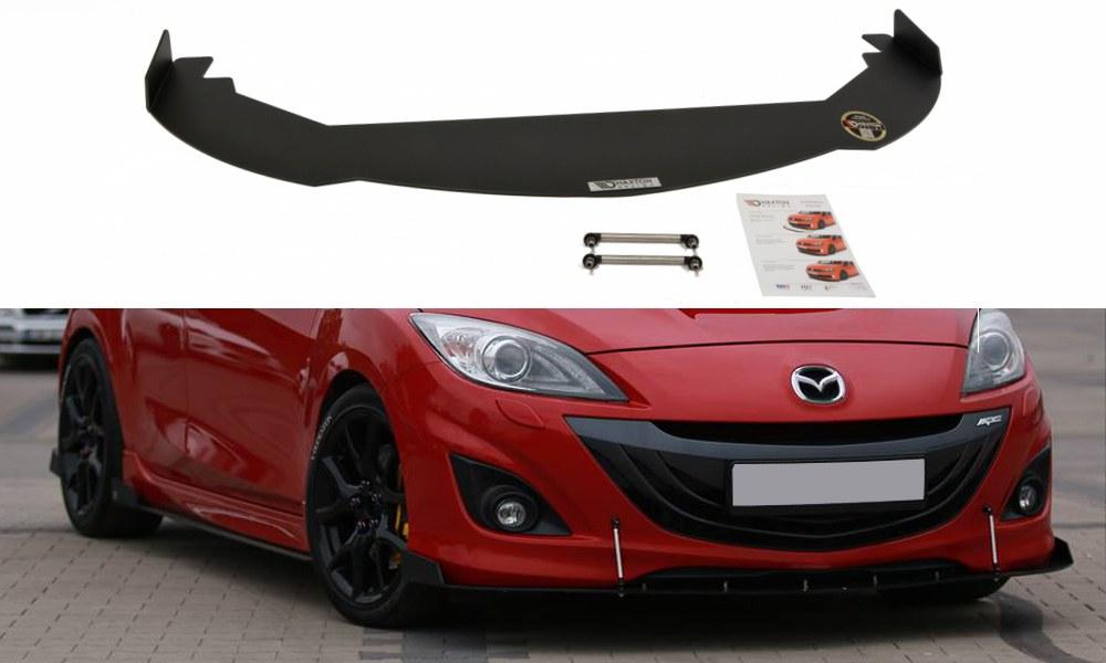 Splitter Przedni Mazda 3 MK2 MPS Racing - GRUBYGARAGE - Sklep Tuningowy